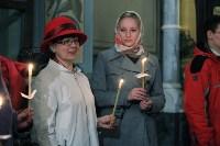 Пасхальная служба в Успенском кафедральном соборе. 11.04.2015, Фото: 50