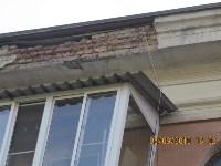 Аварийный фасад в центре Тулы, Фото: 4