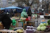 Стихийный рынок на ул. Пузакова, Фото: 6
