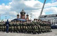 Генеральная репетиция Парада Победы, 07.05.2016, Фото: 45