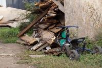 В тульском селе сносят незаконные цыганские постройки, Фото: 23