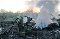 В Туле сборщики металла травят город дымом, Фото: 1