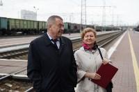 Встреча Валерия Гергиева на Московском вокзале в Туле, Фото: 1