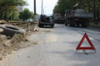 На Рязанке столкнулись две легковушки и грузовик, Фото: 4