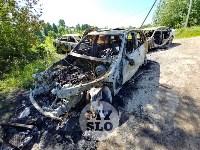 Цыганский конфликт в Туле: ночью подожжены четыре автомобиля, Фото: 13