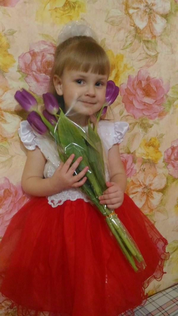 Моя любимая доченька Варвара