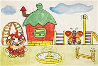 Карина Залётова (6 класс школы №12, Новомосковск):  «Детский городок с фонтаном – это же классно!», Фото: 10