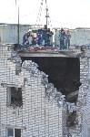 У дома, поврежденного взрывом в Ясногорске, демонтировали опасный угол стены, Фото: 52