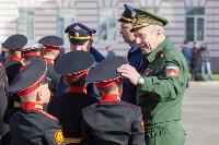 Путин в Суворовском училище, Фото: 18