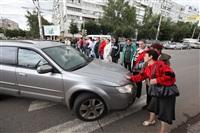 Митинг предпринимателей на ул. Октябрьская, Фото: 1