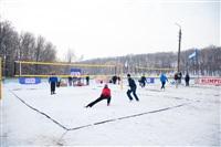 В Туле определили чемпионов по пляжному волейболу на снегу , Фото: 8