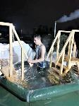 Тульские военнослужащие ВДВ окунулись в прорубь на Крещение, Фото: 4