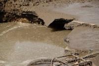 Провал грунта на Замочной и Осташева, Фото: 3