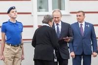 Путин в Суворовском училище, Фото: 72
