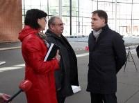 Владимир Груздев проинспектировал строительство выставочного комплекса в кремле. 12.10.2015, Фото: 2