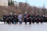 Церемония возложения цветов на площади Победы, 23.02.2016, Фото: 30
