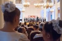 В колонном зале Дома дворянского собрания в Туле прошел областной кадетский бал, Фото: 15