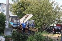 «Экопатруль» благоустроил в Киреевске двор, Фото: 1