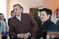 Алексей Дюмин в гимназии Кимовска, Фото: 2