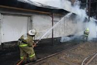 Пожар на хлебоприемном предприятии в Плавске., Фото: 12
