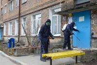 Дезинфекция в Пролетарском округе Тулы, Фото: 4
