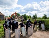 Снос домов в Плеханово. 6 июля 2016 года, Фото: 54