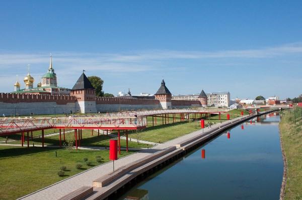 Вид на Тульскую (Казанскую) набережную