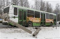 ДТП в Басово: столкнулись два рейсовых автобуса, Фото: 9