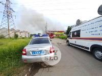 Пожар в Щекино, Фото: 1