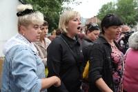 Мини-бунт перед сносом торговых павильонов на Фрунзе. 23.06.2015, Фото: 13
