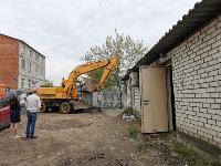 Снос незаконных павильонов в Заречье, Фото: 2