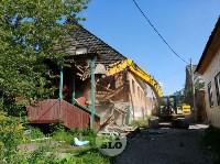 В Плеханово вновь сносят незаконные дома цыган, Фото: 19