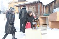 Пожар в жилом бараке, Щекино. 23 января 2014, Фото: 3