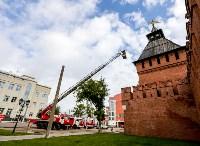 Учения МЧС в Тульском кремле, Фото: 30