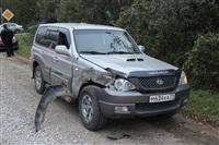На въезде в Тулу трактор протаранил внедорожник, Фото: 10