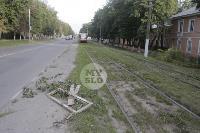 Авария с трамваем на ул. Металлургов, Фото: 6