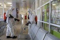 Тульские спасатели продезинфицировали автовокзал «Восточный», Фото: 44