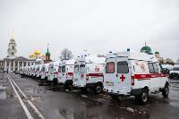 Алексей Дюмин передал региональному Центру медицины катастроф 39 новых автомобилей, Фото: 7