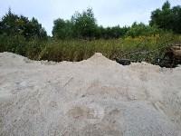 """""""Озеро"""" в Комарках засыпают доломитовой мукой, Фото: 4"""