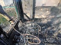 На ул. Баженова в Туле крупный пожар уничтожил жилой дом, Фото: 7