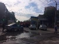 """На ул.9 Мая сгорел рынок """"Салют"""", Фото: 1"""