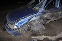 В Щегловской Засеке столкнулись две легковушки, Фото: 11