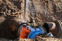 Как ведется монтаж водовода, питающего водой Пролетарский округ Тулы. Фото, Фото: 11