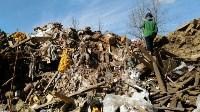 В Туле на берегу Тулицы обнаружен незаконный мусорный полигон, Фото: 19