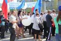 Тульская Федерация профсоюзов провела митинг и первомайское шествие. 1.05.2014, Фото: 85