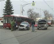 Н ул. Оборонной столкнулись ВАИ и «Газель», Фото: 4