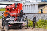 Демонтаж трубопровода у Восточного обвода, Фото: 17