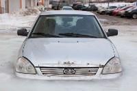 Машина вмерзла в лед, Фото: 6