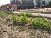 Жители с ул. Максимовского пожаловались на варварское благоустройство двора, Фото: 3