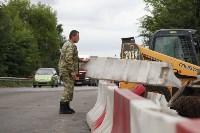 Открытие двустороннего движения по Узловскому путепроводу, Фото: 9